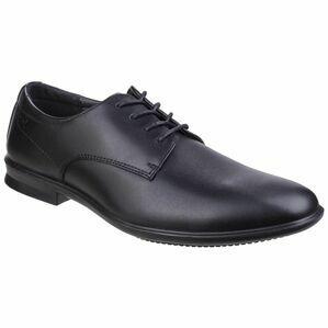 Hush Puppies Cale Oxford Plain Toe Shoe in Black