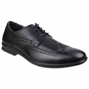 Hush Puppies Cale Oxford Wing Tip Shoe in Black