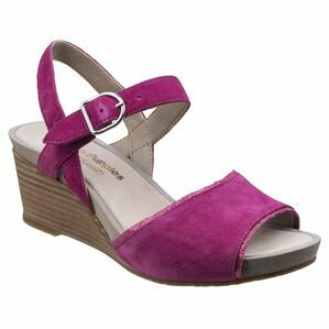 Hush Puppies Cassale Buckle Ankle Strap Wed in Sangria