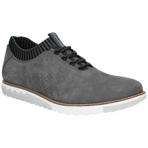 Hush Puppies Expert Knit Lace Up Trainer - Dark Grey