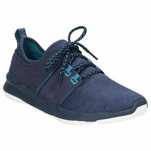 Hush Puppies Geo BounceMax Lace Up Trainer in Navy