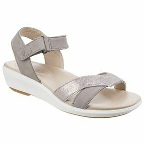 Hush Puppies Lyricale Ankle Strap Sandal in Grey