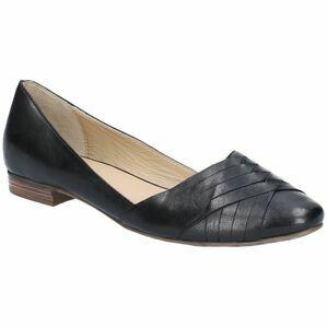 Hush Puppies Marley Ballerina Slip On Shoe in Black