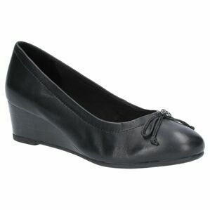 Hush Puppies Morkie Charm Slip On Shoe in Black