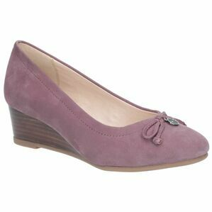 Hush Puppies Morkie Charm Slip On Shoe in Light Plum