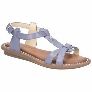 Hush Puppies Olive Tstrap Buckle Strap Sand in Blue