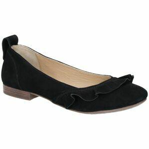 Hush Puppies Willow Ballerina Slip On Shoe in Black