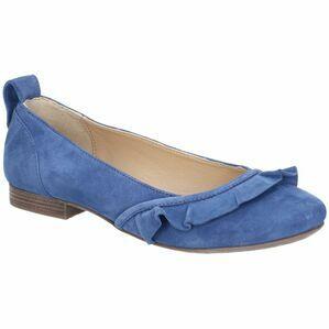 Hush Puppies Willow Ballerina Slip On Shoe in Blue