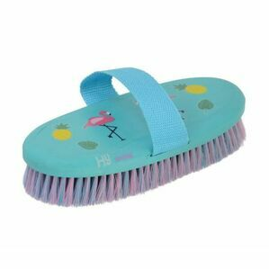 HyShine Flamingo Body Brush - Teal/Provence Blue