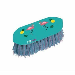 HyShine Flamingo Dandy Brush - Teal/Provence Blue