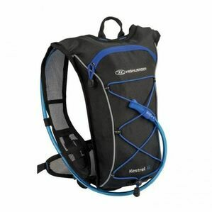 Highlander Kestrel 6 Litre Hydration Rucksack Pack - Black