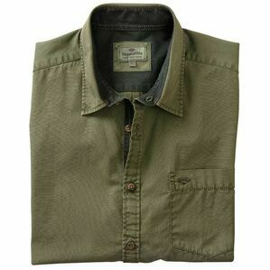 Hoggs Speyside Short Sleeve Plain Shirt - Green