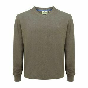 Hoggs Stirling V Neck Pullover - Beige