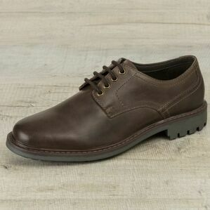 Hoggs Brora Derby Shoe - Dark Brown