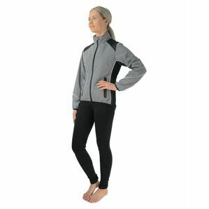 HyVIZ Reflective Riding Jacket - Silver