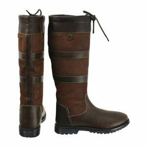 Hyland Bakewell Long Country Boot - Dark Brown
