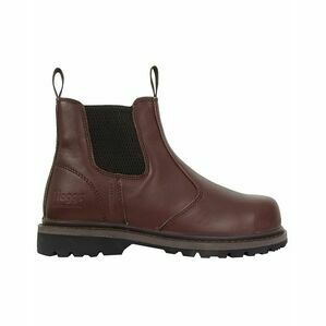 Zeus Safety Dealer Boots - Brown