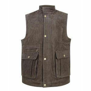 Hoggs Lomond Buffalo Hide Leather Waistcoat