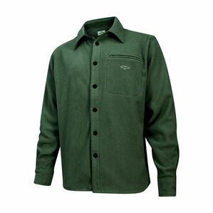 Hoggs Highlander Micro Fleece Shirt - Dark Green