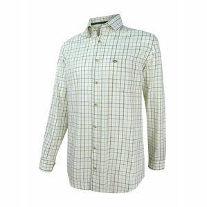 Hoggs Balmoral Tattersall Shirt - Navy/Wine