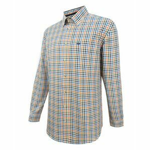 Hoggs Dundas Check Oxford Shirt - Rust