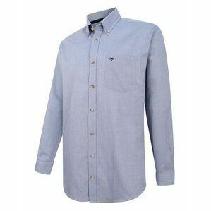 Hoggs of Fife Dunedin Oxford Shirt - Blue