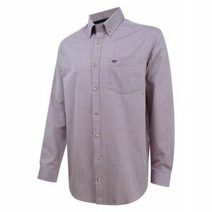Hoggs of Fife Dunedin Oxford Shirt - Wine