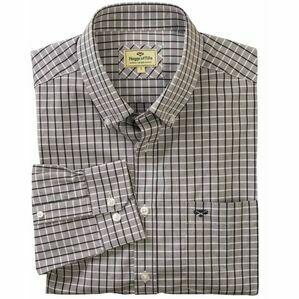 Hoggs Pure Cotton Comrie Check Shirt - Grey