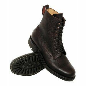 Hoggs Rannoch Veldtschoen Lace Boots - Dark Brown