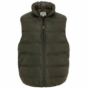 Hoggs of Fife Rover Quilted Gilet - Green