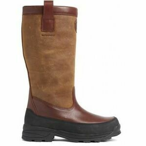 Royal Scot Glencoe Women\'s Tall Leather Boots - Dark Brown
