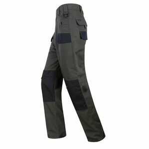 Hoggs of Fife Granite Active Ripstop Thermal Trousers - Grey/Black