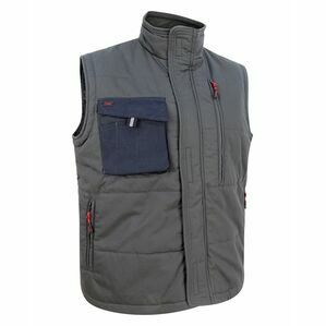 Hoggs of Fife Granite Active Ripstop Gilet - Grey/Black