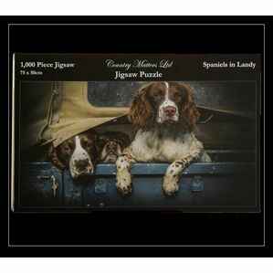 Country Matters 1000 Piece Jigsaw Puzzle - Spaniels in Landy