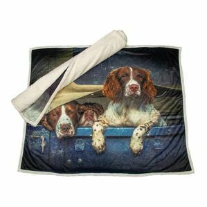 Country Matters Throw - Spaniels in Landy
