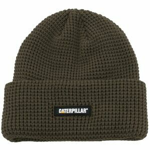 Caterpillar Moss Grid Watch Beanie