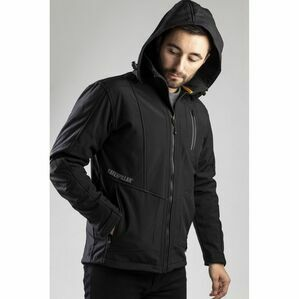 Caterpillar Mercury Soft Shell Jacket in Black