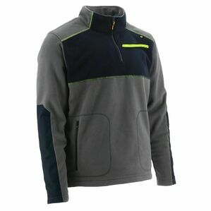 Caterpillar Argo Fleece ¼ Zip in Dark Shadow