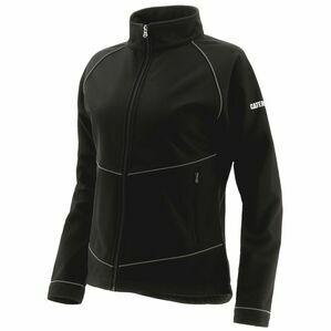 Caterpillar Sara Soft Shell Jacket in Pitch Black