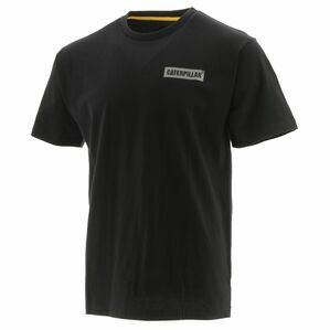 Caterpillar Icon Block Short-Sleeved Tee in Black
