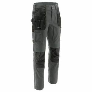 Caterpillar Essentials Knee Pocket Work Trouser in Dark Shadow
