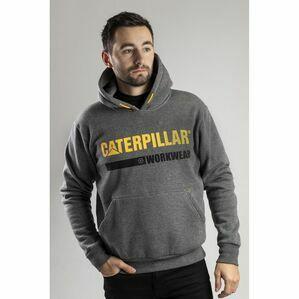 Caterpillar Essentials Hoodie in Dark Heather