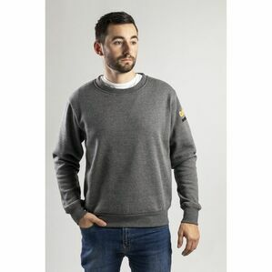 Caterpillar Essentials Crew Neck Sweater in Dark Heather