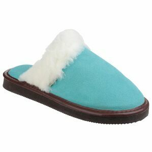 Cotswold Radway Lightweight Mule Slipper in Turquoise