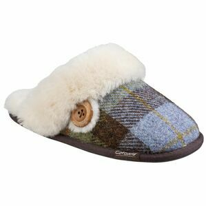 Cotswold Syerford Mule Slipper in Navy