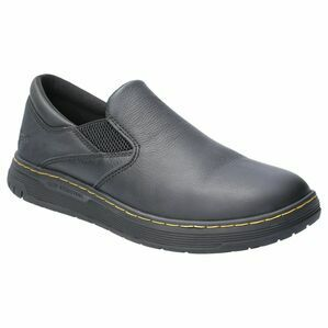 Dr. Martens Brockley Non-Slip Safety Shoe in Black