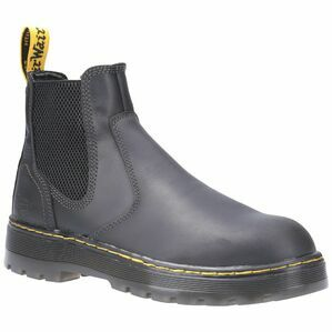 Dr. Martens Eaves SB Slip-On Safety Boot in Black