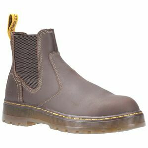 Dr. Martens Eaves SB Elasticated Safety Boot in Brown