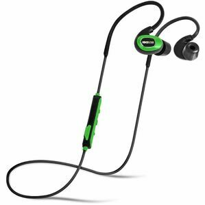 ISOtunes PRO IT08 Bluetooth Noise-Isolating Earbuds Safety Green in Black/Green