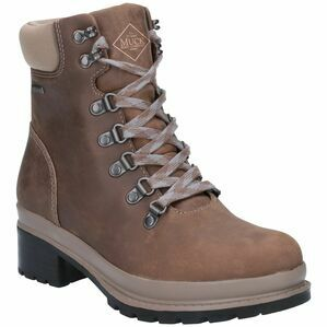 Muck Boots Liberty Alpine Lace Up Ankle Boot in Taupe